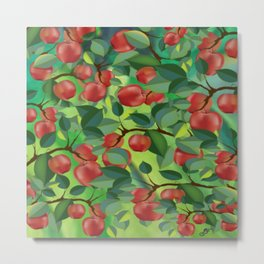 Apples Metal Print