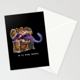 M is for Mimic Stationery Cards