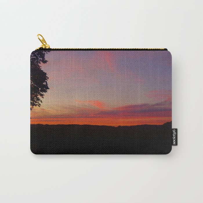 sunset hwy 13 Carry-All Pouch
