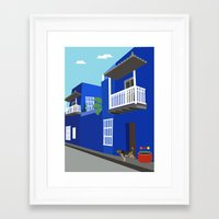 colombia Framed Art Prints featuring Colombia  by Design4u Studio
