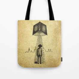 Take Me To Your Reader Tote Bag