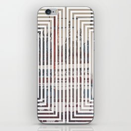 Waterlogged - lined iPhone Skin