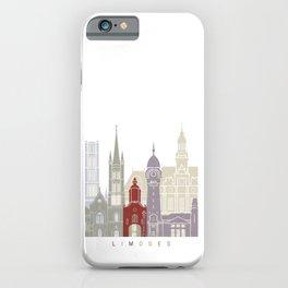 Limoges skyline poster iPhone Case
