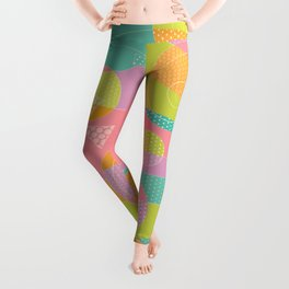 Abstract Pattern - Candyland Leggings