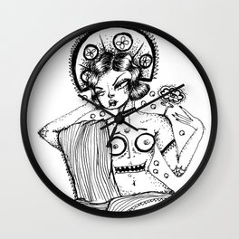 Madame Mari Mar Wall Clock