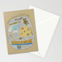 Maine Toys 1965 Stationery Cards