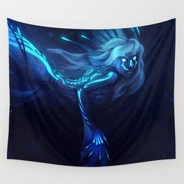 Deep Sea Mermaid Wall Tapestry