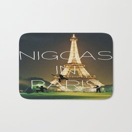 Niggas In Paris Bath Mat