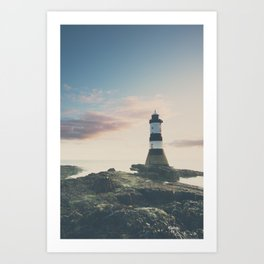 Penrose Lighthouse at sunrise Art Print