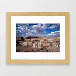 Grand Falls Framed Art Print