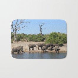 Elephant Safari Bath Mat
