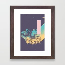 Purpura Lafo Framed Art Print