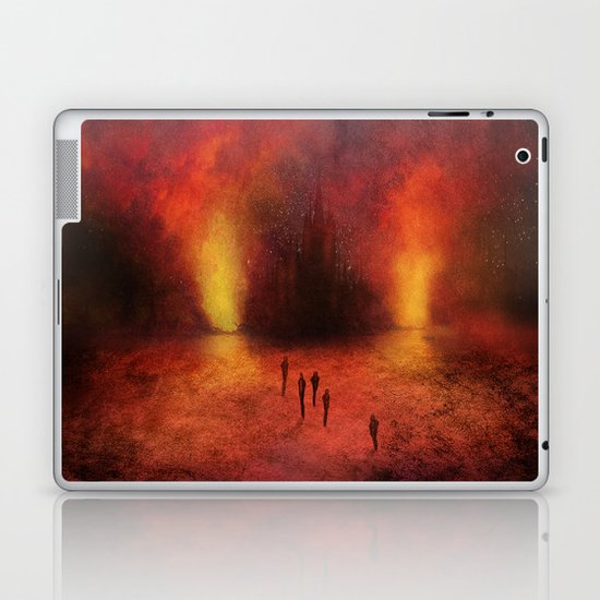 Leaving the past Laptop & iPad Skin