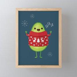 AVO MERRY CHRISTMAS Framed Mini Art Print