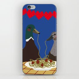 Dinner for two iPhone Skin