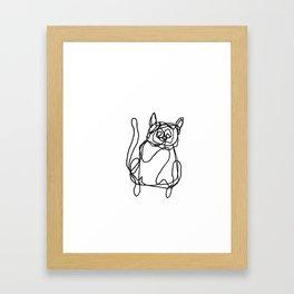 Katt Framed Art Print