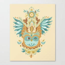 Owl Wings Canvas Print