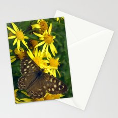 Speckled Wood Stationery Cards