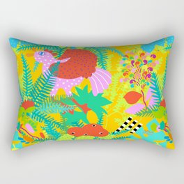 Jungle Birds Rectangular Pillow