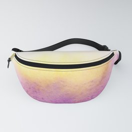 150306 Abstract Watercolor An Imperfect Circle 8 Fanny Pack