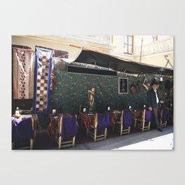 Turkish Lounge Canvas Print