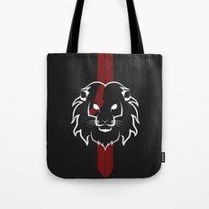 Monarch (White & Red) Tote Bag