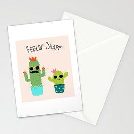 Feelin' Sharp Stationery Cards