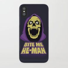 Skeletor - Bite me Slim Case iPhone X