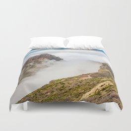 Mountains on Madeira Duvet Cover