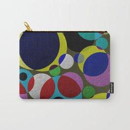 Bubbles - Fun, geometric, colourful design Carry-All Pouch