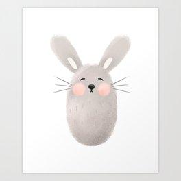 Rabbit Nursery Art Art Print