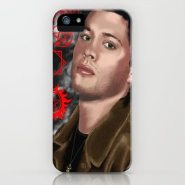 Jensen Ackles (Dean Winchester from Supernatural) iPhone Case