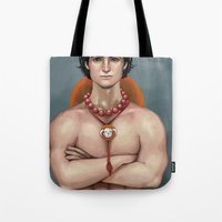 ace attorney Tote Bags featuring Ace by Fatma