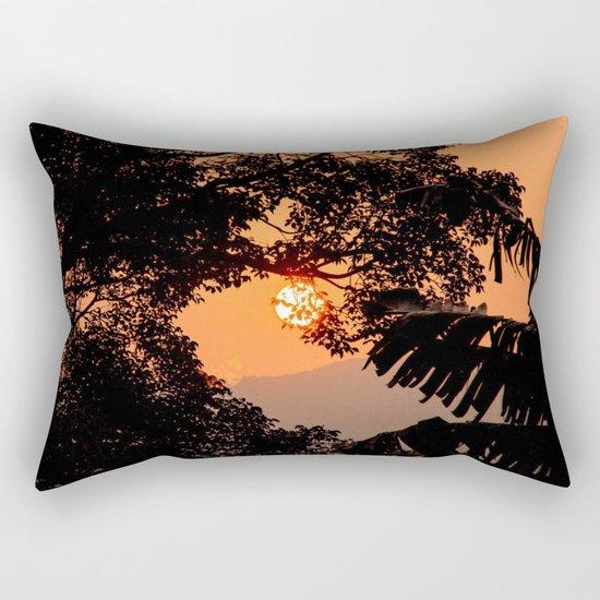Creamsicle Moonlight Rectangular Pillow