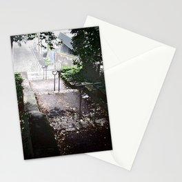 Dark path, Nantes Stationery Cards