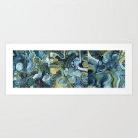 Mindmap I-III Art Print
