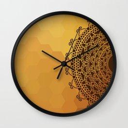 Ethnic Mandala Wall Clock
