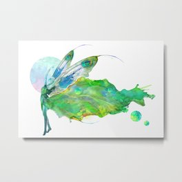 I Saw Tonight a Lovely Dancer Metal Print