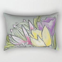 Protea bouquet Rectangular Pillow