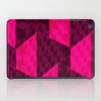 hexagon iPad Cases featuring HEXAGON by xalomako