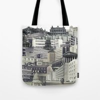 sin city Tote Bags featuring Sin City by anitaa