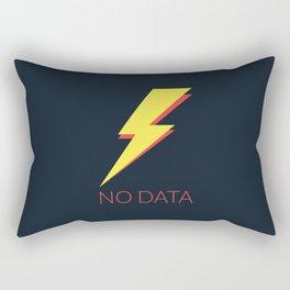No Data Rectangular Pillow