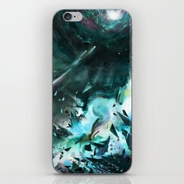 Bursting into Dream Realm iPhone Skin