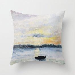 Shediac Bay Throw Pillow