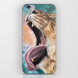 Lioness Sky iPhone Skin