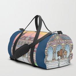 Chapel Hall Gallaudet University Duffle Bag