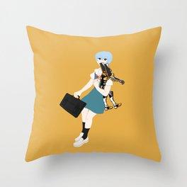 00 Rei Ayanami Throw Pillow