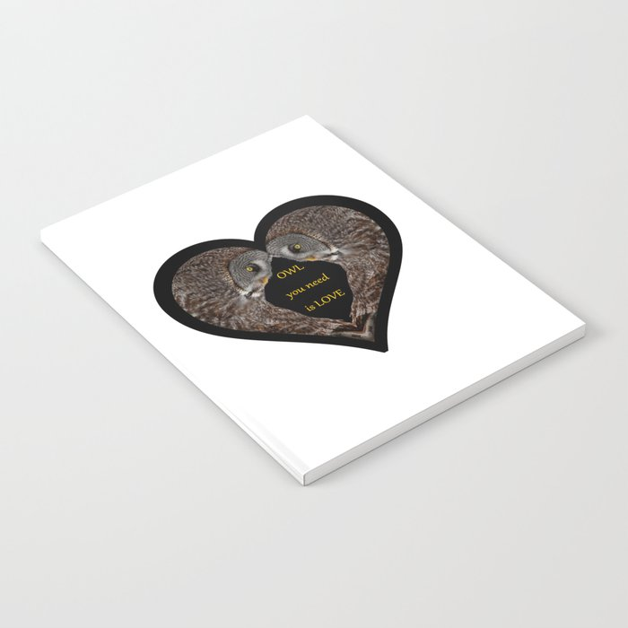OWL you need is LOVE Notebook