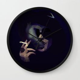 Low Poly Marla Singer Wall Clock