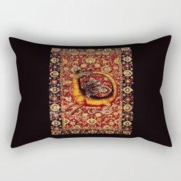Ourobos Dragon - Garden of Beasts Collection Rectangular Pillow